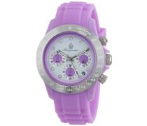 Damen-Armbanduhr Chronograph Quarz Silikon BM514-990C