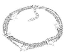 Elli Damen-Armband Sterne Länge 18cm 925 Sterling Silber 0210642711_18