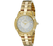 Damen-Armbanduhr Analog Gold 18034