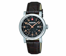 Wenger Damen-Armbanduhr XS Urban Classic Analog Quarz Leder 01.1021.104