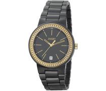 Damen-Armbanduhr Sensation Analog Quarz Edelstahl JP100792F03