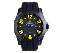 Burgmeister Herren-Armbanduhr XL Analog Quarz Silikon BM606-622A