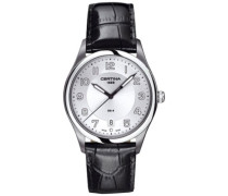 Certina Herren-Armbanduhr XL Analog Quarz Leder C022.410.16.030.00