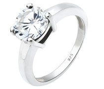 Damen Ring Klassik 925 Sterling Silber