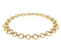 Damen-Armband Kreis 925 Silber    18 cm - 0210852314_18