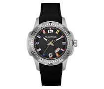 Herren-Armbanduhr Analog Quarz Silikon NAI13517G