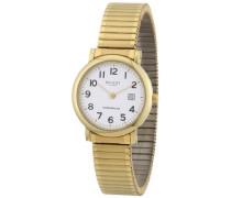 Damen-Armbanduhr XS Analog Edelstahl beschichtet 12300081