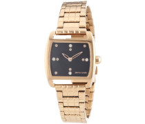 Pierre Cardin Damen-Armbanduhr Purisme Analog Quarz Edelstahl beschichtet PC104152F08