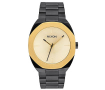 Nixon Damen-Armbanduhr Analog Quarz Edelstahl A918010