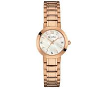 Damen-Armbanduhr Analog Quarz Edelstahl 97P115