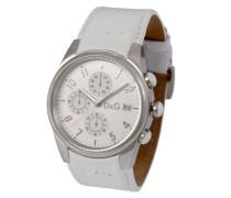 Herren-Armbanduhr Sandpiper Leder weiss 3719770084