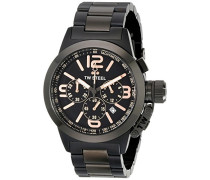 TW Steel Unisex-Armbanduhr Chronograph Quarz Edelstahl TW312