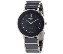 Damen-Armbanduhr Analog Quarz Keramik 3209-03