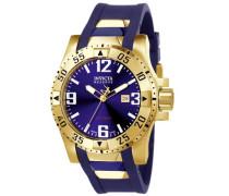 Herren-Armbanduhr XL Analog Kautschuk 6254