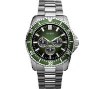 Herren-Armbanduhr XL FOCUS Analog Edelstahl beschichtet W10245G3