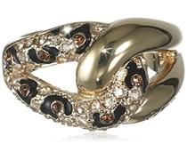 Guess Damen-Ring Metalllegierung Glas weiß Gr. 56 (17.8) - UBR51422-56