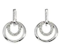 Damen-Ohrringe Flirt/Glamorous Metall 0,0039g Messing Zirkonia M36107Z