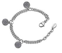 Style Jewelry Damen-Armband Edelstahl LS1406-2/4