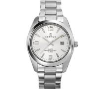 Herren-Armbanduhr Analog Quarz Edelstahl 615316