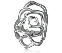 Kleine Rose Ring Silber