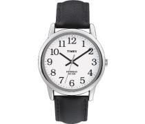 Herren-Armbanduhr Weis Quarz Leder T20501D7