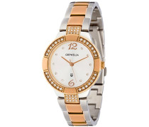 Damen-Armbanduhr Analog Quarz Edelstahl OR53370987