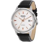 Herren-Armbanduhr Analog Automatik Leder 3586-03