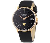 Junkers Damen-Armbanduhr XS Bauhaus Analog Quarz Leder 60752