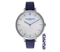 Cacharel Damen-Armbanduhr Analog Quarz Leder CLD 032/FG