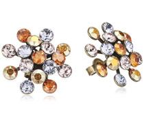 Konplott Damen-Ohrstecker Magic Fireball Messing Glas mehrfarbig - 5450543301624