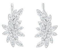 Premium Ohrringe Earcuff Floral Swarovski Kristalle 925 Silber 0312462316