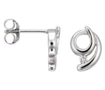 Damen-Ohrstecker 925 Sterling Silber Zirkonia wei ZO-5998