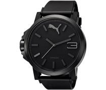 Puma Herren-Armbanduhr XL Analog Quarz Plastik A.PU102941001