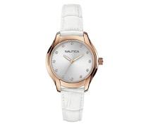 Damen-Armbanduhr Analog Quarz Leder A12657M