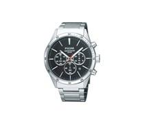 Pulsar Uhren Herren-Armbanduhr XL Modern Chronograph Quarz Edelstahl PT3005X1