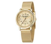Damen-Armbanduhr MARLON Chronograph Quarz Leder R2351107001