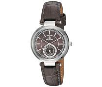 Armbanduhr für Damen mit Analog Anzeige, Quarz-Uhr und Lederarmband - Wasserdichte Damenuhr mit zeitlosem, schickem Design - klassische, elegante Uhr für Frauen - BM336-190 Celina
