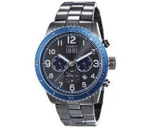 Herren-Armbanduhr VOLTERRA Analog Quarz Edelstahl beschichtet CRA104SUBL61MU