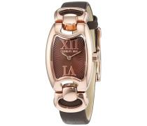 Cerruti Damen-Armbanduhr Analog Quarz Leder CRR002C283A