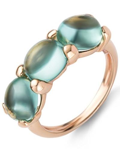 Damen-Ring 9 Karat (375) Rosegold Peridot 4.5 ct Größe 54 MNA9002R54