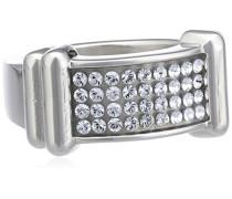 Damen-Ring Versilbertes Metall Kristall Swarovski 336319