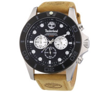 Herren-Armbanduhr XL Analog Quarz Leder TBL.13909JSTB/02