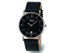 Boccia Herren-Armbanduhr Mit Lederarmband Trend 3533-01