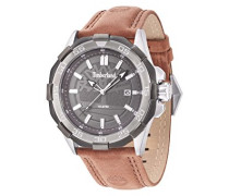 Timberland Herren-Armbanduhr Analog Quarz Leder 14098JSTU/61