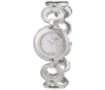 Damen-Armbanduhr Analog Quarz Edelstahl 4567.7136
