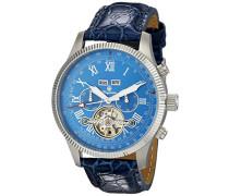 Armbanduhr für Herren mit Analog Anzeige, Automatik-Uhr und Lederarmband - Wasserdichte Herrenuhr mit zeitlosem, schickem Design - klassische Uhr für Männer - BM330-133 Malabo