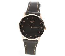 Damen-Armbanduhr Analog Quarz Leder 3254-03