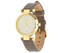 ! Damen-Armbanduhr MARTHA Analog Quarz Leder JP101722003