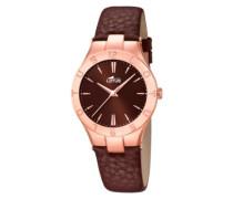 Lotus Damen-Armbanduhr XS Analog Quarz Leder 15901/2
