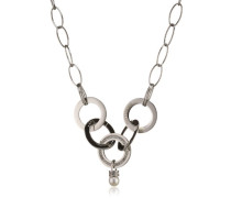 Damen-Halskette Edelstahl mattiert 50 cm - SRR01